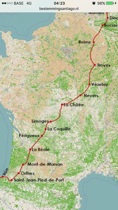 Route Rocroi