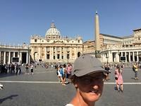Op het Vaticaanplein