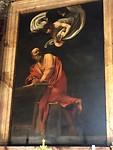 Inspiratie van Matteus, Caravaggio