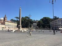 Andere kant Piazza di Popolo