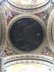 Schijn koepel in Chiesa de Ignazio di Loyola