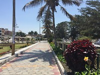 Mooi parkje, alle van de musea in Chiclayo