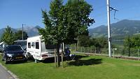Mooie plaats op camping Ewil