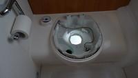 Pomp van toilet defect