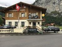 Bikersrestaurant in Meiringen (Zwitserland)