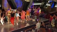Dansgroep bij Afrikaans restaurant Gold in Kaapstad