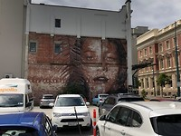 Straat kunst in Christchurch