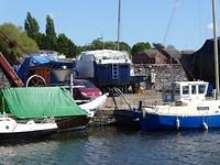 De vergeten boten in  Exeter