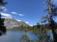 Een van die prachtige meren bij Bariloche