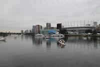 Haven aan zuidkant Down Town Vancouver