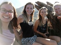 Karoo garden met Leah en Lydia