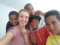 Selfie met eco-boys