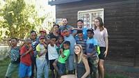 Kamp met jongste eco-boys