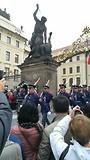 Wisseling van de wacht Prague Castle