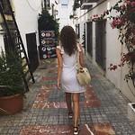 Small cute street in Marbella