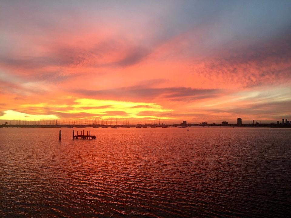 Sunset @ St. Kilda