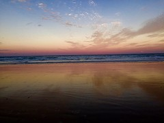 Amazing sunset @ Fraser Island