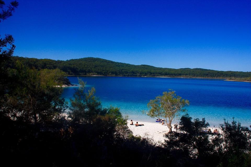 Incredible Lake McKenzie