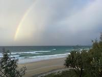 Rainbow over Rainbow Beach