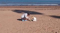 Zandkastelen bouwen!