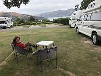 Plekje op de camping