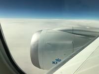 KLM Dreamliner....