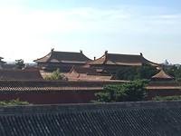 Nog meer daken, t is echt een enorme oppervlakte met gebouwen