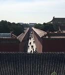 Smalle staat in de Verboden Stad, te zien vanaf de stadsmuur