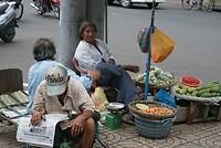 Saigon straatleven