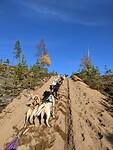 Training sandy uphill