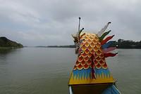Tocht met de drakenboot