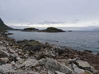 Scheren voor de kust van de Lofoten