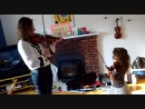 Violin Lesson by Laureline