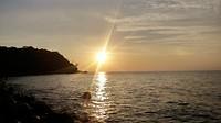 sunset m'pai bay