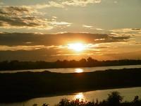 Sunset Vientiane