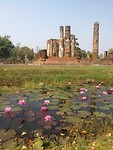 Lotus and a couple of very old ruines