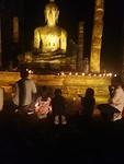 Whole family praying 🙏 ✨