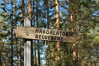 Route naar Näköalatorni