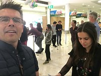 Herenigd met pa en ma in Sydney