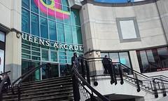 Een van de heel veel shopping arcades