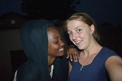 Op de foto met Mariam