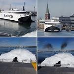 De Molsline naar richting Kopenhagen