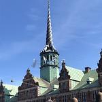 Christiansborg Toren, parlementspaleis, hoogste toren van Kopenhagen, 106 m