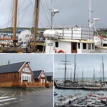 Húsavík waar de whale watching niet doorging