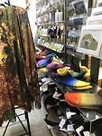 Een prachtige gallery in een saai museum, slof sokken voor Loes gekocht