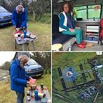 Zuurkool met lamsvlees bij Barber en Job eten op de camping