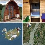 Mijn pod op Vínland camping, eenvoudig, geen stromend water