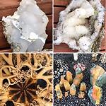 Petra's rotstuin met IJslandse mineralen