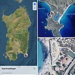Onderin Sardinië, strandcamping met afdakjes