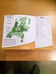 Grensdijkjespad de kaart van alle provincies